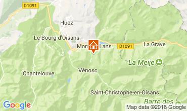 Mapa Les 2 Alpes Apartamentos 101201
