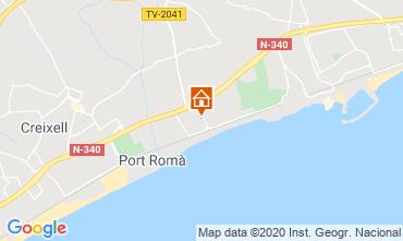 Mapa Torredembarra Casa 117085