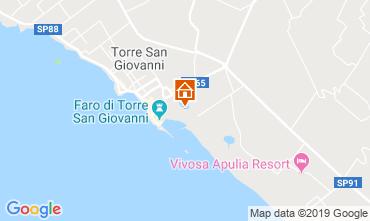Mapa Ugento - Torre San Giovanni Apartamentos 118359