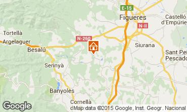 Mapa Figueres Casa de turismo rural/Casa de campo 73706