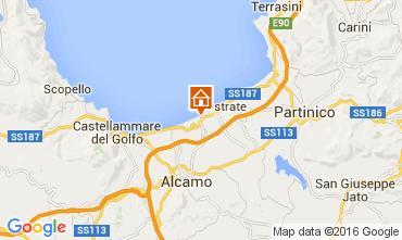 Mapa Balestrate Apartamentos 104705