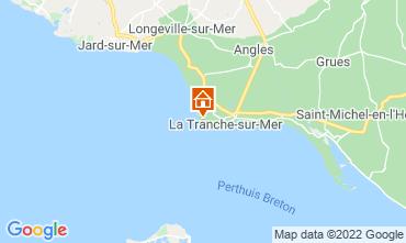 Mapa La Tranche-sur-mer Vivenda 7127