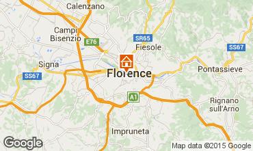 Mapa Floren�a Apartamentos 90994