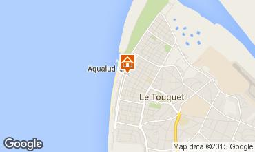 Mapa Le Touquet Apartamentos 40906
