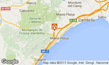Mapa Miami Playa Vivenda 93577